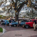 Car show in Longwood Florida on Saturdays