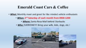 Car show in Mary Esther Florida on Saturdays