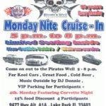 Car show in Lake Park Florida on Mondays