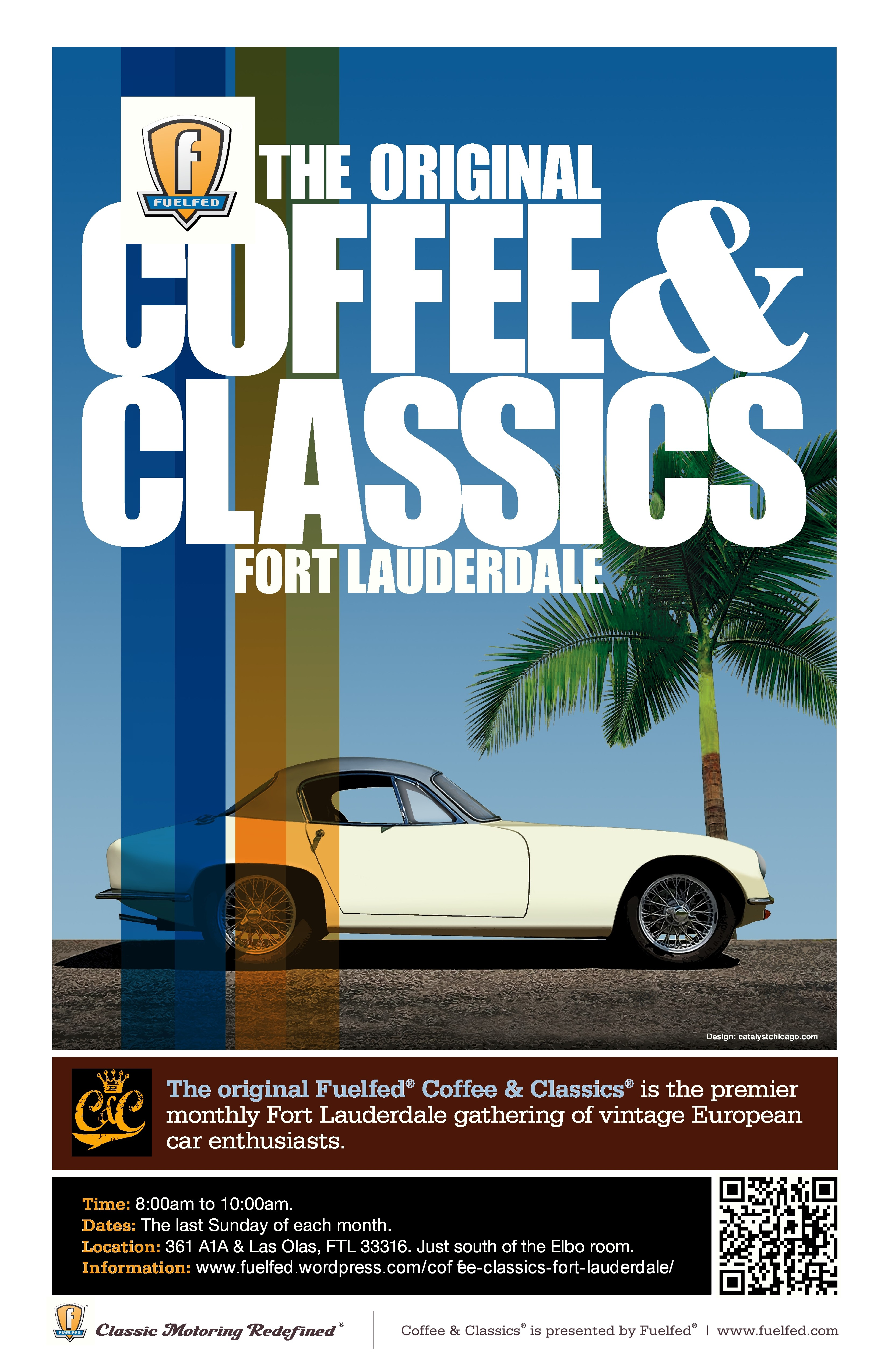 Fuelfed Coffee Classics FLA Car Shows - Fort lauderdale car show