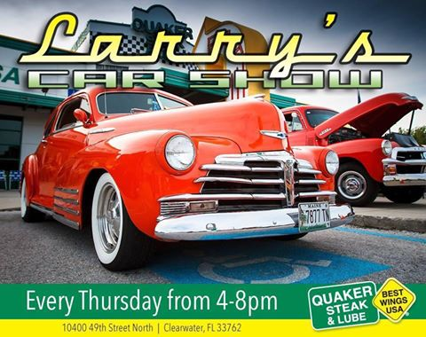 QSL Car Show Larry Cruise In FLA Car Shows - Classic car show clearwater fl