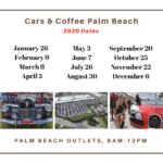 Cars & Coffee Palm Beach Florida Sundays
