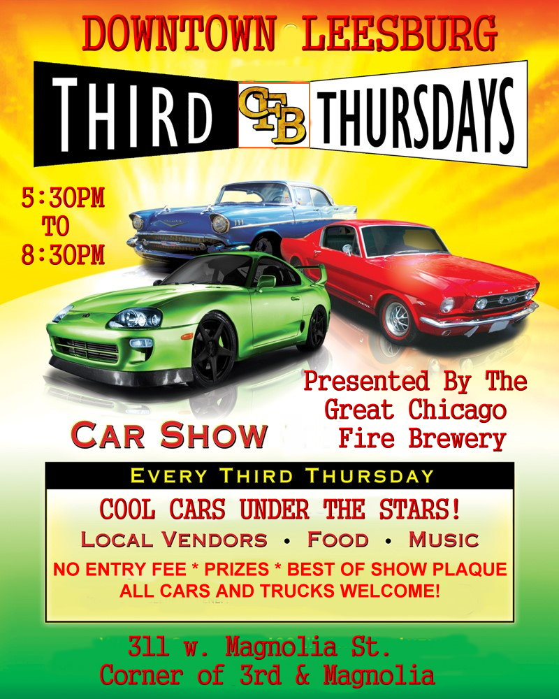 Cool Cars Under The Stars FLA Car Shows - Leesburg car show