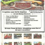 Classic muscle car show in Tequesta Florida on Saturday