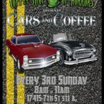 Cars & coffee in Monteverde Florida on 3rd Sundays