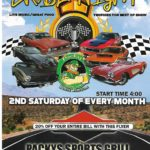 Car show in Boca Raton Florida on Saturdays