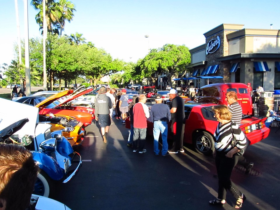 Car show in Tampa Florida on Fridays