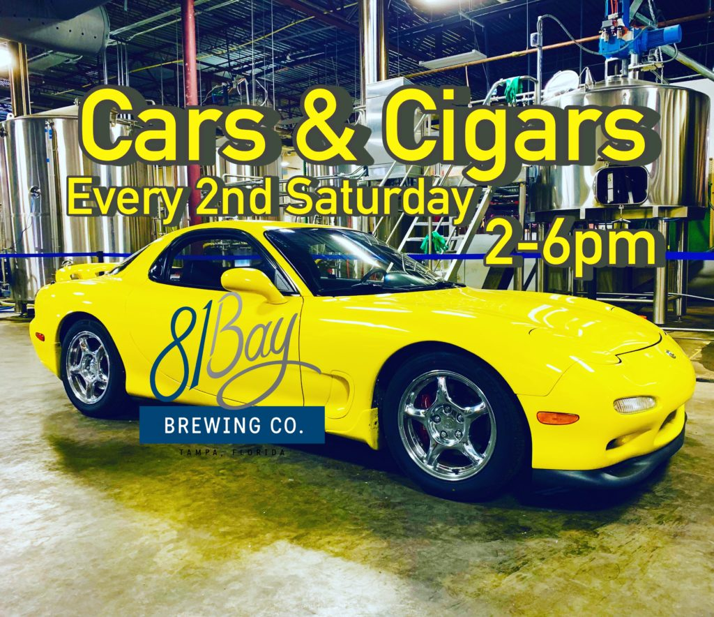 Cars show in Tampa Florida on Saturdays