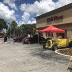 Car show in Kissimmee Florida on Sundays
