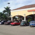 Car show in Kendall Florida on Saturdays