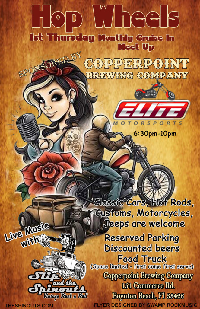 Car show in Boynton Beach Florida on Thursdays