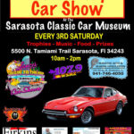 car show in Sarasota florida on satrudays