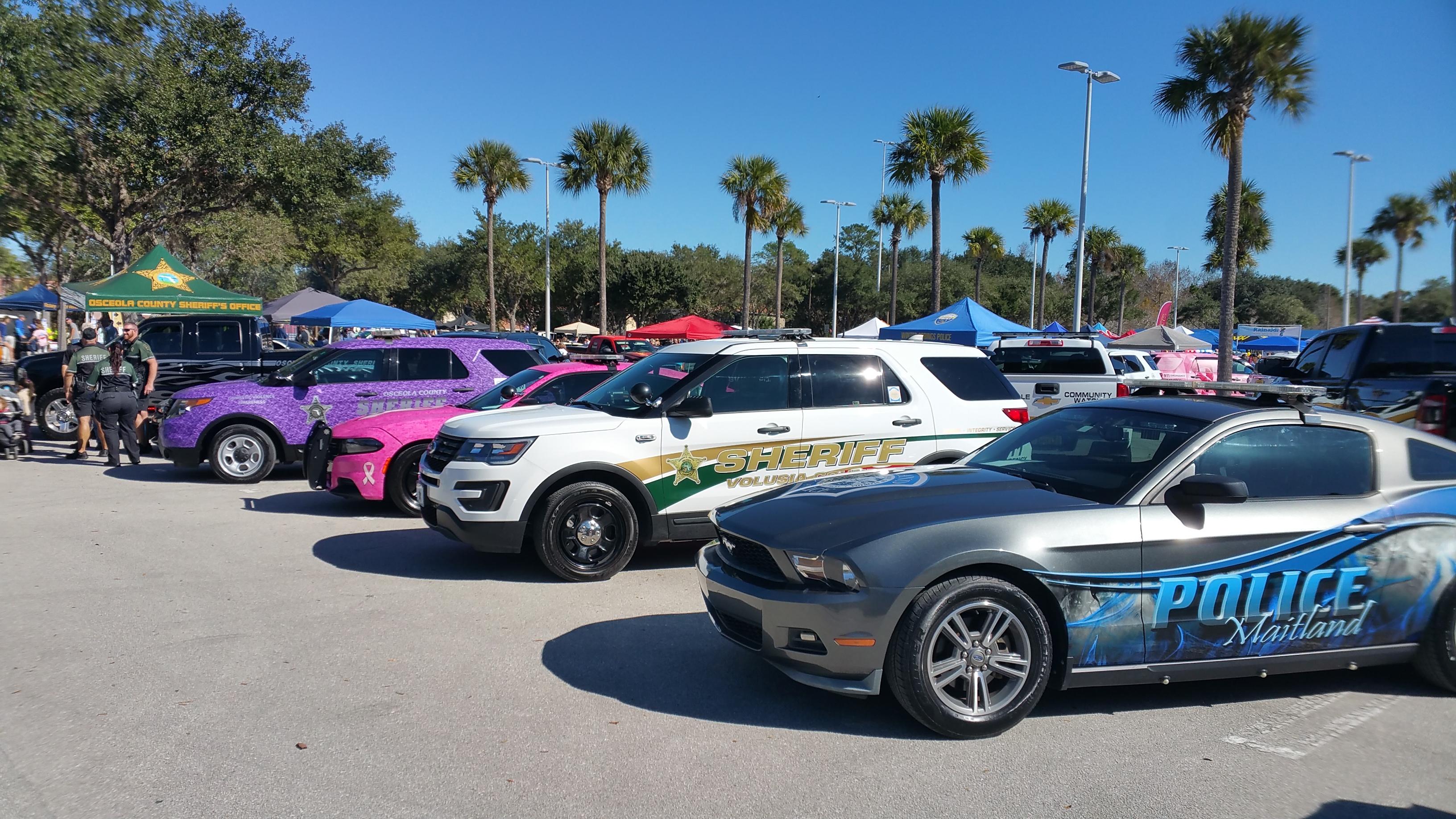 Cops Cars Show