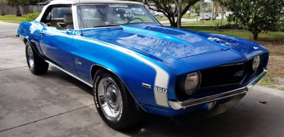 From Red to Blue Camaro