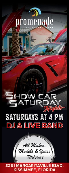car show in kissimmee florida on saturdays