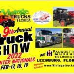 truck show in leesburg floirda on january 17 18 19